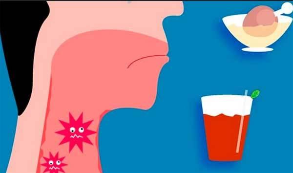 Слизь в горле и носу с неприятным запахом – причины и лечение