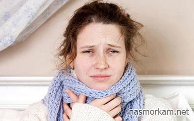Першит, щекочет в горле и кашель – причины и лечение