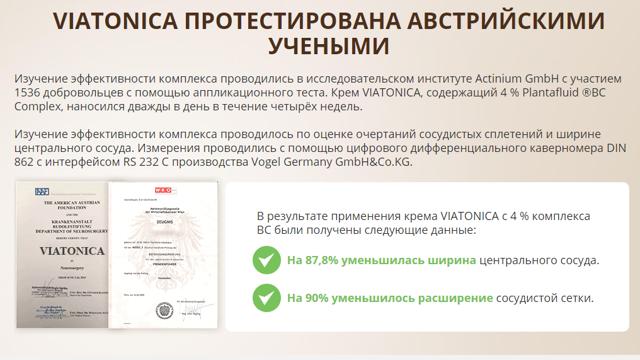 ВИАТОНИКА от варикоза: отзывы, цена, состав и стоит ли покупать