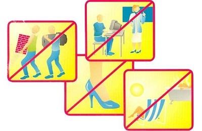 Противопоказания при варикозе на ногах: что можно и что нельзя делать
