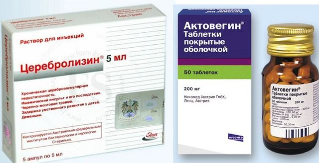 Сравнение Актовегина и Церебролизина
