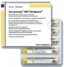 Актрапид (инсулин): инструкция по применению, цена, отзывы, аналоги