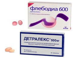 ФЛЕБОДИА 600 ИЛИ ДЕТРАЛЕКС: что лучше и в чем разница (отличие составов, отзывы врачей)