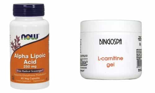 Можно ли применять вместе Альфа-липоевую кислоту и l-карнитин?
