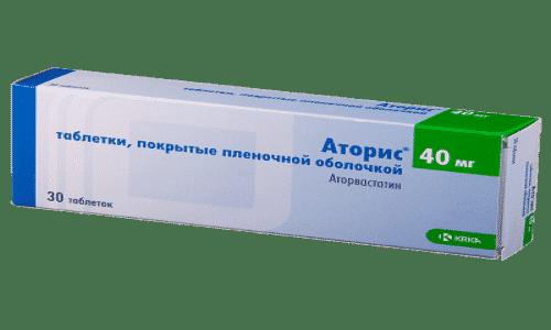 АТОРИС 40 - инструкция по применению, цена, отзывы и аналоги